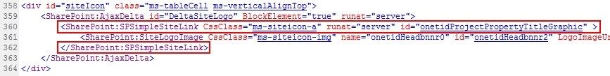 remove logo spsimplesitelink