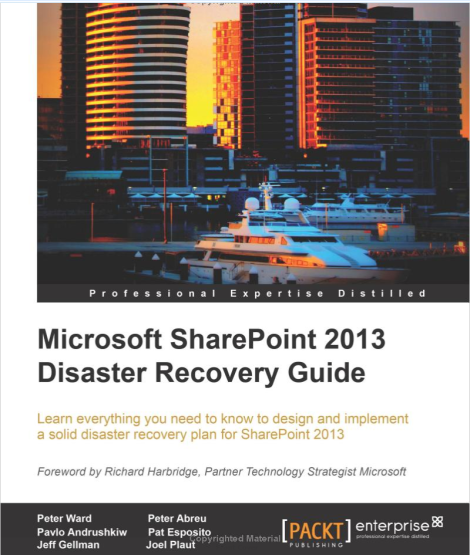 Microsoft-SharePoint-2013-Disaster-Recovery-Guide