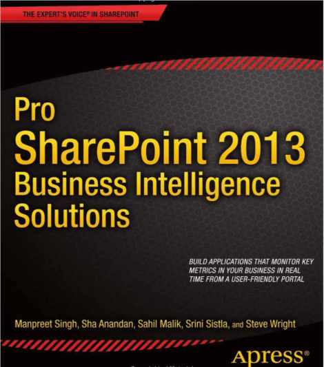 Apress-Pro-SharePoint-2013-Business-Intelligence-Solutions