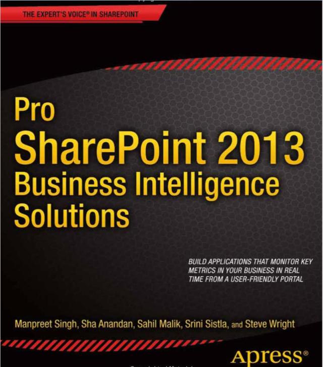 Apress-Pro-SharePoint-2013-Business-Intelligence-Solutions